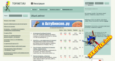 Tsite v7.1 Rus - скрипт рейтинга сайтов