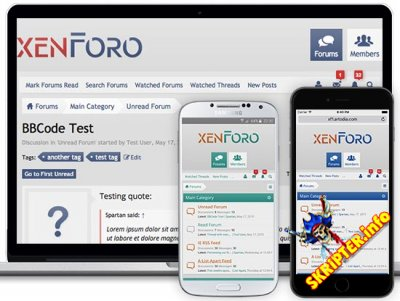 XenForo v2.0.12 Rus Nulled - форумный движок