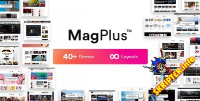 MagPlus v1.7 - журнальная тема для WordPress