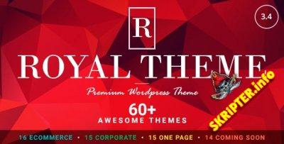 Royal v3.4 - универсальный шаблон для WordPress