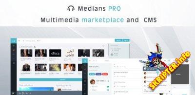 Medians PRO v2.0 Rus - скрипт мультимедийного сайта