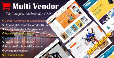 Ecommerce Multi-Vendor Website Builder v1.0