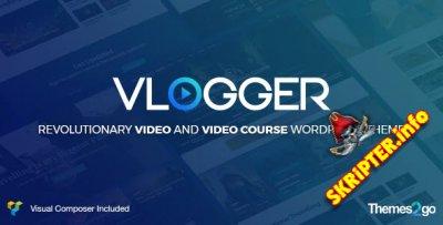 Vlogger v1.5.6 - видео шаблон для WordPress