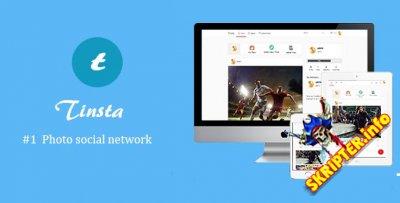 Tinsta v1.2.1 Rus - социальная сеть для обмена фотографиями