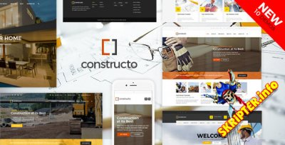 Constructo v4.0.6 - бизнес шаблон для WordPress