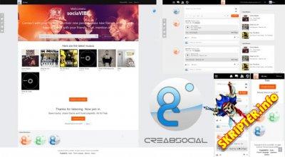 Crea8SOCIAL Pro v7.2.1 Rus Nulled - скрипт социальной сети