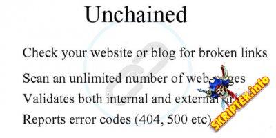 Unchain v1.0 - скрипт проверки битых ссылок