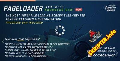PageLoader v3.0 - экран загрузки и индикатор выполнения для WordPress