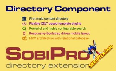 SobiPro v1.3.7 - компонент каталога для Joomla