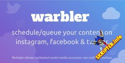 Warbler v1.0 - менеджер профилей социальных сетях