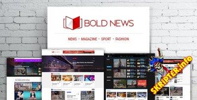 Bold News v1.2.2 - новостной шаблон для WordPress