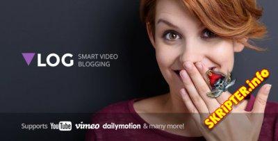 Vlog v2.1 - видео блог / журнал шаблон для WordPress