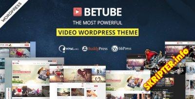 Betube v2.0.6 - видео шаблон для WordPress