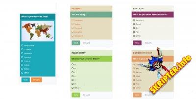 Advanced Poll v3.5.0 - компонент опросов для Joomla