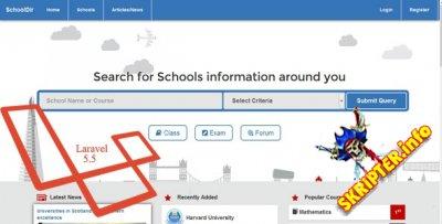 Schools Directory v1.0 - скрипт каталога школ