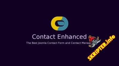 Contact Enhanced Pro v3.9.7.2 Rus - компонент контактов для Joomla