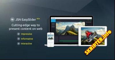 JSN EasySlider Pro v2.1.15 - универсальный слайдер для Joomla