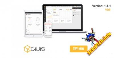 Ciuis v1.1.1 Rus - мощный CRM скрипт