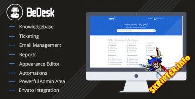 BeDesk v1.2.1 - служба поддержки клиентов