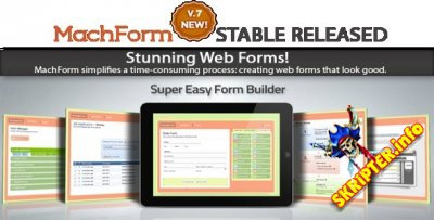Machform v7.0 Unlimited - онлайн-редактор для создания веб-форм