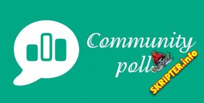 Community Polls v4.6.4 - социальные опросы для Joomla
