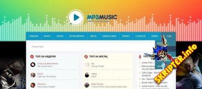 Mp3Music - музыкальный шаблон для DLE
