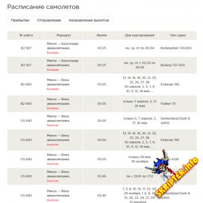 Расписание транспорта 1.5 [DLE 9.x - 12.x]