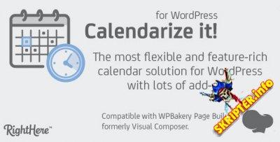 Calendarize it! v4.7.2.85698 Rus - календарь событий для WordPress