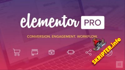 Elementor Pro v2.6.3 Nulled – Drag & Drop конструктор страниц для WordPress