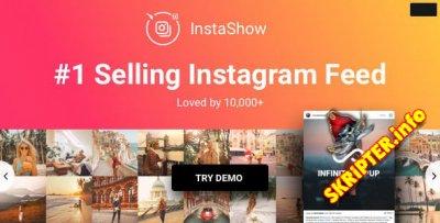 InstaShow v3.6.2 - создание галерей из Instagram для WordPress