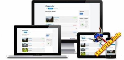 iCagenda Pro v3.6.13 - компонент календаря событий для Joomla