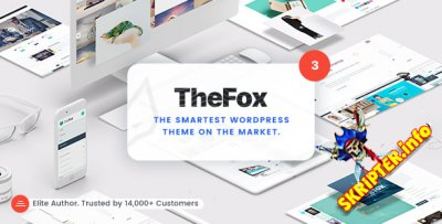 TheFox v3.3.2 - универсальный шаблон для WordPress