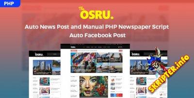 Osru v1.0 Nulled - автонаполняемый новостной портал