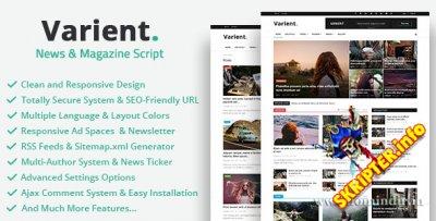 Varient v1.3.2 Nulled - News & Magazine Script Nulled