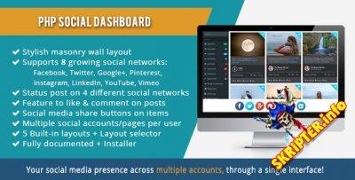 Social Dashboard v1.5.5 - скрипт управления социальными сетями