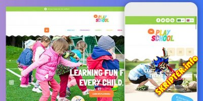 JA Playschool v1.0.3 - детский шаблон для Joomla