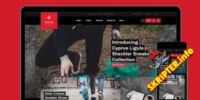 JA Shoe Store v1.0.1 - шаблон онлайн магазина для Joomla