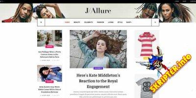 JA Allure v1.0.1 - новостной шаблон для Joomla