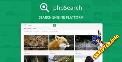 phpSearch 1.6 - скрипт поисковой системы