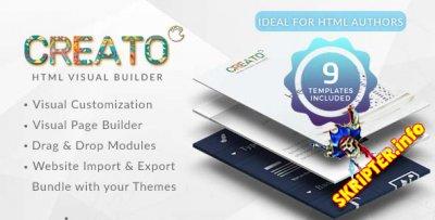 Creato v1.0 - конструктор HTML страниц