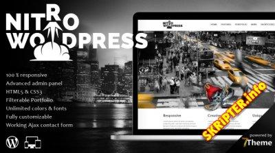 Nitro v1.05 - многофункциональный шаблон для WordPress