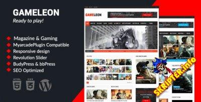 Gameleon v6.2 - игровой шаблон для WordPress