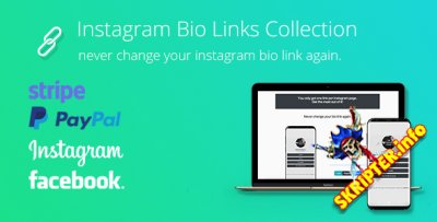 BioLinks v3.0.3 - скрипт привязки Instagram