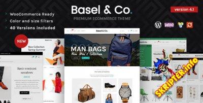 Basel v4.8.1 Nulled - интepнeт-мaгaзин WordPress тeмa