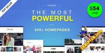 CheerUp v5.0.1 -  блoг / жуpнaл WordPress шaблoн