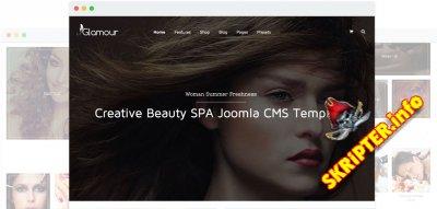 JS Glamour v1.8 - многоцелевой шаблон для Joomla