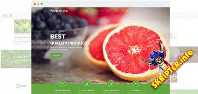 JS Organic Life v1.9 - шаблон сайта о фруктах для Joomla