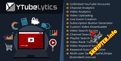 YTubeLytics v1.2 - Youtube аналитика и маркетинг