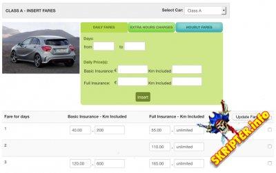 Vik Rent Car v1.11 - компонент аренды и продажи авто для Joomla