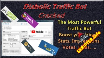 Diabolic Traffic Bot v7.07 Cracked - программа для накрутки трафика